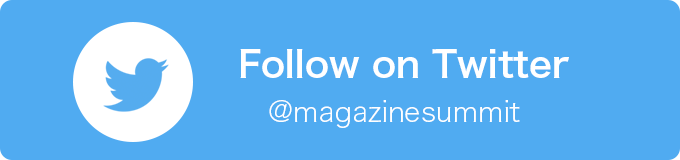 follow on Twitter @magazinesummit